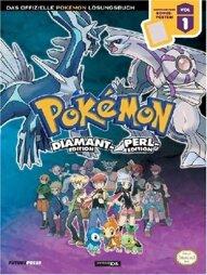 LÖSUNG - Pokémon Diamant & Perl Band 1, offiziell, gebraucht