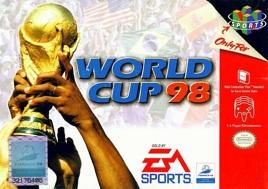 Frankreich 98 - Die Fussball WM, gebraucht - N64