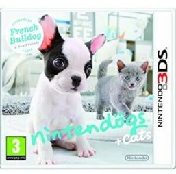Nintendogs + Cats Französische Bulldogge & neue Freun. - 3DS