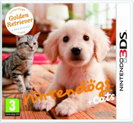 Nintendogs + Cats Golden Retriever & neue Freunde - 3DS