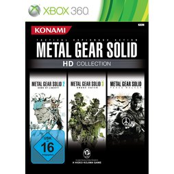 Metal Gear Solid HD Collection (Teil 2, 3 & PW), geb.- XB360
