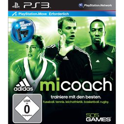 Adidas micoach (Move) - PS3