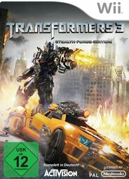 Transformers 3 Stealth Force Edition - Wii