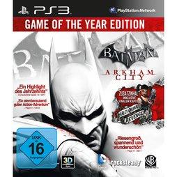 Batman Arkham City GOTY - PS3
