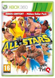 WWE All-Stars inkl. Million Dollar Pack, gebraucht - XB360