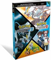 LÖSUNG - Pokémon Schwarz 2 & Weiß 2 Band 1, offiziell, gebr.