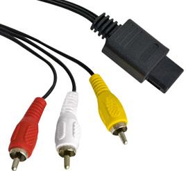 Standard AV Kabel, Eaxus - SNES/N64/NGC