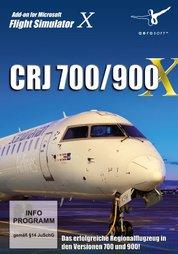 Flight Simulator X Addon CRJ 700/900 - PC-DVD
