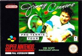 Jimmy Connors Pro Tennis Tour, gebraucht - SNES