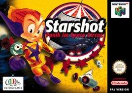 Starshot Panik im Space Circus, gebraucht - N64
