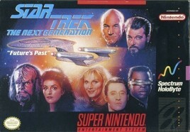 Star Trek The Next Generation, gebraucht - SNES
