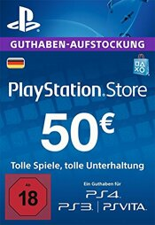 Playstation Network Card 50 EUR (DT) - PSN Card