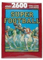 Super Football, gebraucht - Atari 2600