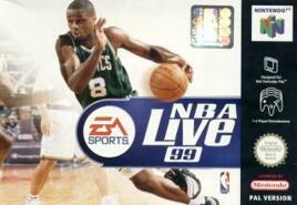 NBA Live 1999, gebraucht - N64