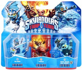Skylanders - Trap Team Figur - Triple Pack 2