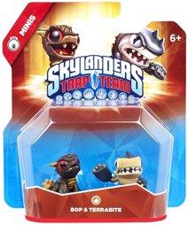 Skylanders - Trap Team Figur - Minis Pack Bop & Terrabite