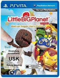 Little Big Planet Marvel Super Hero Edition - PSV