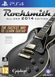 Rocksmith All-New 2014 Edition inkl. Real Tone Cable - PS4