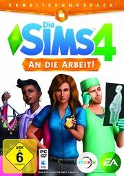 Die Sims 4 Addon 1 An die Arbeit! - PC-DVD/MAC