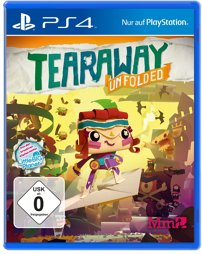 Tearaway Unfolded, gebraucht - PS4