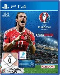 Pro Evolution Soccer 2016 inkl. UEFA Euro 2016, gebr.- PS4