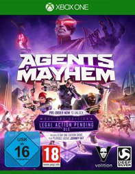 Agents of Mayhem Day One Edition - XBOne