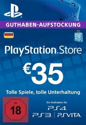 Playstation Network Card 35 EUR (DT) - PSN-PIN