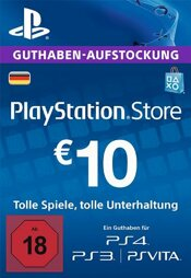 Playstation Network Card 10 EUR (DT) - PSN-PIN