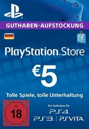 Playstation Network Card 5 EUR (DT) - PSN-PIN
