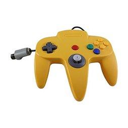 Controller, gelb, TTX-Tech - N64
