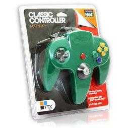 Controller, grün, TTX-Tech - N64
