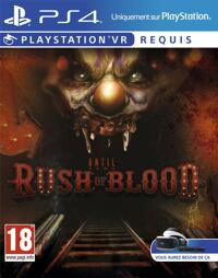 Until Dawn Rush of Blood (VR) - PS4