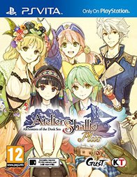 Atelier Shallie Plus Alchemists of the Dusk Sea - PSV