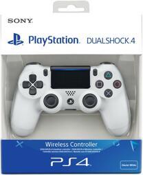 Controller Wireless, DualShock 4, white, V2, Sony - PS4