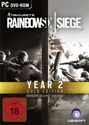 Rainbow Six 7 Siege Gold (inkl. Year 2 Pass) - PC-DVD