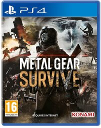 Metal Gear Survive Day One Edition - PS4