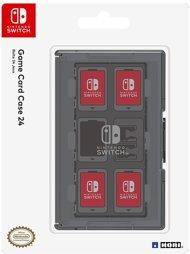 Game Card Case für 24 Spiele, schwarz, HORI - Switch