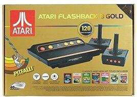 Grundgerät Atari Flashback 8 Gold HD, 2 Joysticks + Kabel