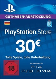 Playstation Network Card 30 EUR (DT) - PSN-PIN