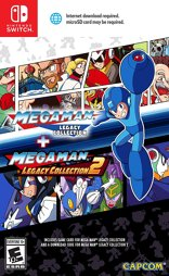 Megaman Legacy Collection 1 & 2 - Switch