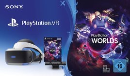 Playstation VR, V2, mit Kamera, V2 & VR Worlds - PS4