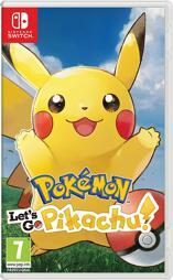 Pokémon Lets Go, Pikachu! - Switch