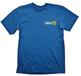 T-Shirt - Fallout Vault 76, blau (Größe L)