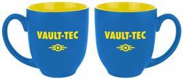 Tasse - Fallout Vault-Tec, blau/gelb