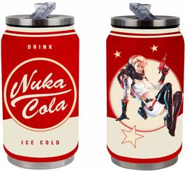 Trinkflasche - Fallout Nuka Cola Metal Can