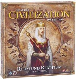 Brettspiel - Civilization Addon Ruhm und Reichtum