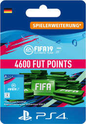 Fifa 2019 Ultimate Team Points (4600 Punkte) - PS4-PIN