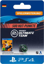 NHL 2019 Ultimate Team Points (500 Punkte) - PS4-PIN