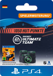 NHL 2019 Ultimate Team Points (1050 Punkte) - PS4-PIN
