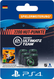 NHL 2019 Ultimate Team Points (2200 Punkte) - PS4-PIN